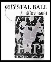 定価3,456円 CRYSTAL BALLクリスタルボール【新品】パスケース