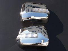 クロームメッキLEDミラーカバー ハリアー 10系15系RX300