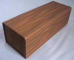 木調 めがねケース 高級PUレザー 折畳・折りたたみ 眼鏡ケース箱