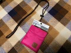 新品未使用海外旅行ネックワレットウォレットピンク財布首掛け
