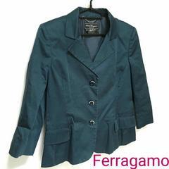 正規品 Salvatole Ferragamo ジャケット ネイビー イタリア製