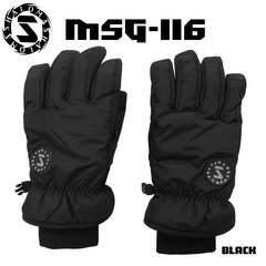 マシャロMASHALO スノーグローブ スキー メンズ MSG-116 BLACK