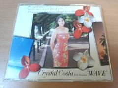 クリスタル・コスタCD「WAVE」ハワイ ウクレレ 17歳●