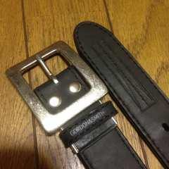 G&S ゴードン&スミス ウェット素材ベルト ブラック サーファー