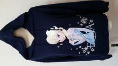 新品 タグ付き アナと雪の女王 トレーナー 紺