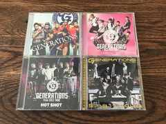 GENERATIONS from EXILE TRIBE シングル4セット [CD+DVD]