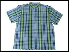 新品 3XL 大きいビックサイズゆとり リラックスシャツ#19 (XXXL)