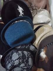 新品含*帽子�H点まとめて*アンゴラ・羊毛・フェザー《総額43308円》