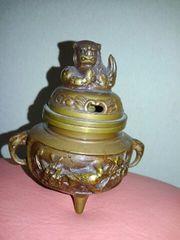 香枦・銅製・骨董中古品