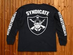 RhymeSyndicate★シンジケート★ロンT★新品★L★黒