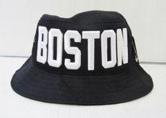 CA2107)PREMIUM HEAD WEAR「BOSTON」ハット 黒