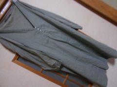 ZARA*薄手八部袖ワンピースL*クリックポスト164円