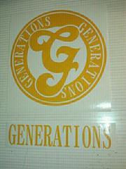 ハンドメイド Generations ジェネレーションズ 2枚セット