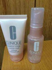 クリニーク・お化粧水・保湿マスク・美品・2個セット・送料無料