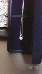 一粒ダイヤモンドネックレス 0.410ct 送料無料