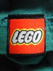 LEGO レゴ ブロック 二輪車 バイク BIKE デザイン Tシャツ グリーン Sサイズ