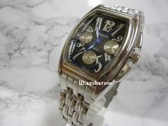 新品★腕時計 シルバー クロノグラフ風/フランクミュラー好きに