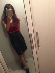 ココディール☆袖結びデザインデニムスカート2 美品♪