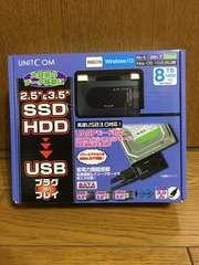 SSD/HDD[SATA用]USB3.0変換アダプタ
