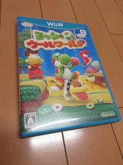 [美品]任天堂WiiU ヨッシー ウールワールド