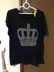 1280☆王冠柄#Tシャツ