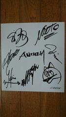 ANTHEM/アンセム/メンバー7名/直筆サイン色紙