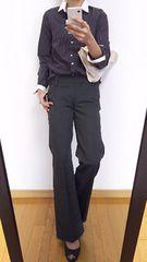【新品+美品】BOSCH/定価18360円パンツ+ストライプ柄シャツ◆上下セット
