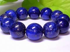 激安大特価◆ラピスラズリ瑠璃石16ミリ◆人気天然石数珠