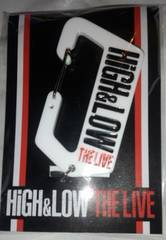 HiGH&LOW THE LIVE カラナビキーホルダー EXILE TRIBE