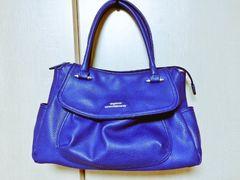 23区ハンドバッグ 綺麗なブルー