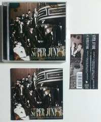 (CD+DVD)SUPER JUNIOR/スーパージュニア☆SUPER SHOW3 開催記念盤