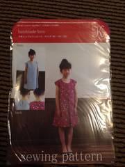 女の子・ワンピース型紙・100110120
