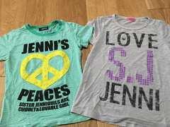 おしゃれ!Jennジェニー 120 130 140 Tシャツ 2点セット