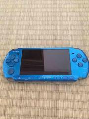 PSP3000 ブルー 状態良好 本体