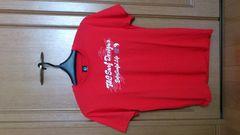 激安85%オフハワイ、タウカン、半袖ロゴTシャツ(新品タグ、赤、メンズM)