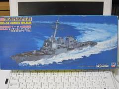 1/700 米国海軍 DDG−54カーティス・ウィルバー