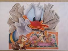 ドナルド・チップ&デール★ポストカード