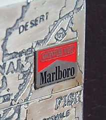 Marlboro非売品ジッポーMAWアウトドアギア01マルボロキャンZIPPO
