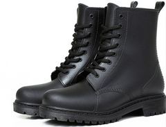 レディース  ショートブーツ 37サイズ 23.5cm ブラック
