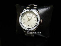 新品★腕時計 シルバー ホワイト/シーマスター好きに