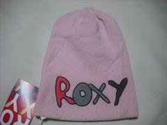wb733 ROXY ロキシー ニット帽 ビーニー ピンク