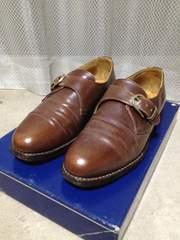 Lloyd ロイドフットウエア レザーシューズ 革靴 UK6 24.5cm E 茶 ベルト 英国製