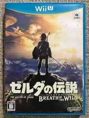 ゼルダの伝説 ブレスオブザワイルド 美品 WiiU