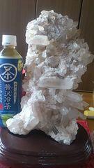 超デカ!天然!!レムリアンシード水晶クラスター6、8キロ