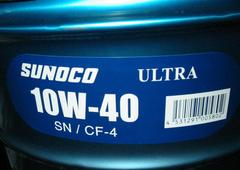 ☆ SUNOCO (スノコ) ULTRA. 10W-40. API-SN/CF-4. 20Lです。
