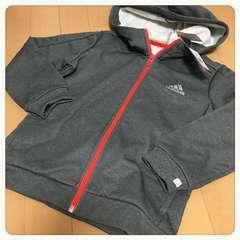 120【adidas・アディダス】ジップパーカー新品