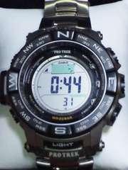 定62640円カシオPRO-TREKPRW-3500Tチタンソーラー電波腕時計