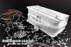 送料無料オーストリッチ本革型押セカンドバッグ牛革鞄オラオラヤクザヤンキーチョイ悪73白