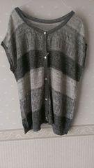 新品タグ付☆ピュアルセシン麻羽織り