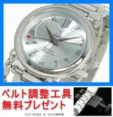 新品 即買■ヴィヴィアンウエストウッド腕時計VV006SL★工具付